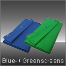 Blue- / Greenscreens