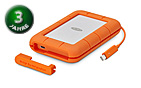 LaCie Rugged Thunderbolt USB-C 1 TB SSD (integ. Cable)