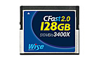 Wise CFast 2.0 Card 3400X blue 128 GB