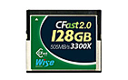 Wise CFast 2.0 Card 3300X green 128 GB